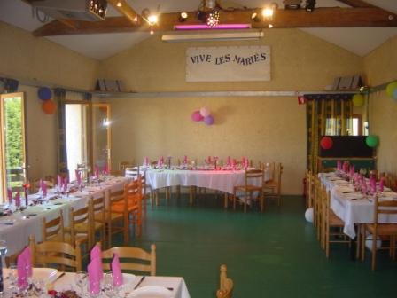 Salle de restaurant-banquet