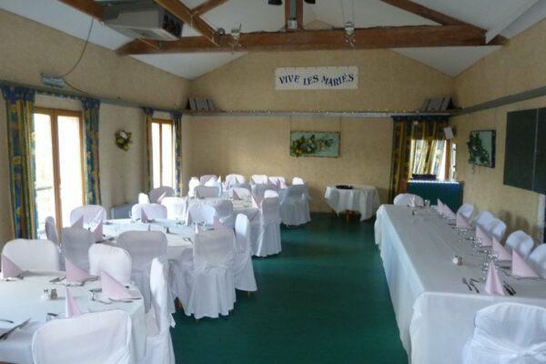 Salle de restaurant-mariage