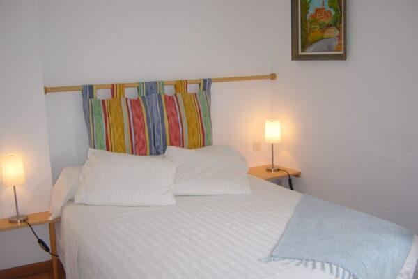 la chambre Anis, coté lit